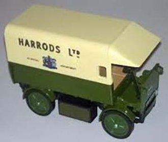 """1919 Walker Electric Van """"Harrods"""" Army (Green/Cream)"""