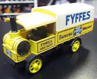 "1917 Yorkshire Steam Wagon ""Fyffes Banana Merchant"" (Yellow/White)"
