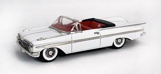 1959 Chevy Impala Convertible (White)