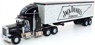 "1:55 Peterbilt T/T ""Jack Daniel's"" (Black/White)"