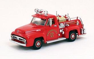 "1953 Ford Fire Pickup ""Garden City Fire Dept."" (Red)"