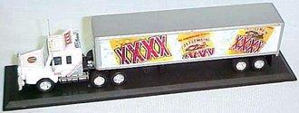 """Scania T142 w/Box Trailer """"Castlemaine XXXX"""""""