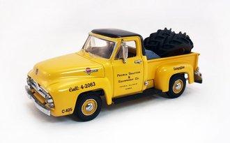 "1955 Ford Pickup ""Caterpillar"" w/Tire Load"