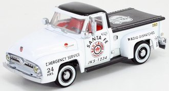 """1:43 1955 Ford Pickup """"Red Crown - Route 84"""""""