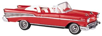 1957 Chevy Bel Air Convertible (Red)