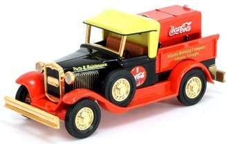 "1:43 1930 Ford Model A Pickup ""Coca-Cola"" w/Cooler"
