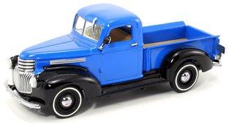 1:43 1941 Chevy AK ½-Ton Pickup Truck (Blue/Black)