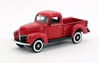 1:43 1940 Ford Pickup Truck (Red)