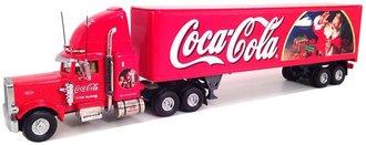 """1:55 Peterbilt T/T """"Coca-Cola"""" w/Santa"""