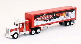 """Peterbilt 379 w/Box Trailer """"Budweiser"""""""