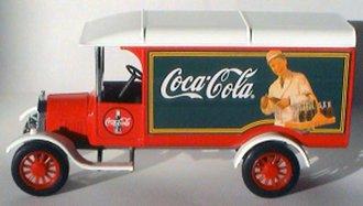 1:43 Coca-Cola 1926 Ford Model TT Van