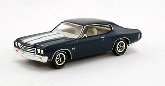 1:43 1970 Chevrolet Chevelle SS454 (Metallic Blue)