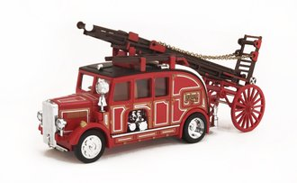 1:43 1936 Leyland Cub FK-7 Fire Engine w/Ladder