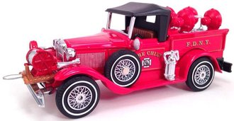 """1930 Ford Model A Fire Chief """"FDNY"""""""
