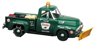 """1:43 1954 Ford Pickup w/Plow """"Sinclair"""""""