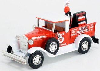 """1:43 1930 Ford Model A Pickup """"Texaco"""" w/Air Pump & Oil Rack"""
