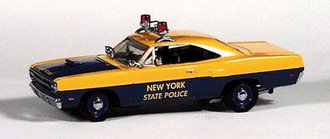 "1970 Plymouth Road Runner Police ""New York"""