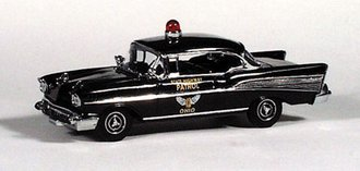 "1957 Chevy Bel Air Police ""Ohio"""