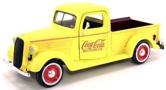 1:24 Coca-Cola 1937 Ford Pickup (Yellow)