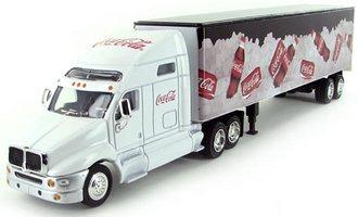 """Coca-Cola Tractor Trailer """"Coca-Cola on Ice"""" (White)"""