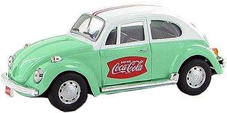 1:43 Coca-Cola 1966 VW Beetle (Green/White)