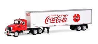 1:50 Coca-Cola Kenworth T880 w/53' Van Trailer (Red/White)