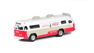 1:64 Coca-Cola 1960 Flxible Starliner Bus