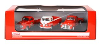 Coca-Cola Classic Pickup Set (Set of 3)