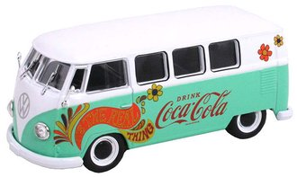 "1:43 Coca-Cola 1959 VW T1 Samba Bus ""Flowers Version"""