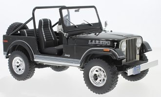 1:18 1980 Jeep CJ-7 Laredo (Black)