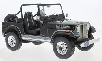 1:18 1980 Jeep CJ-7 Laredo (Black)