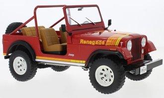 1980 Jeep CJ-7 Renegade (Red)