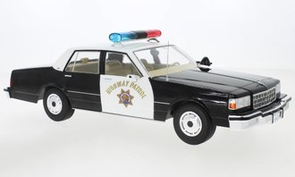 "1987 Chevrolet Caprice Sedan ""California Highway Patrol"" (Black/White)"