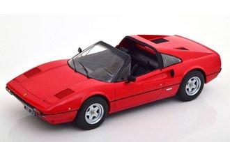 1:18 1977 Ferrari 308 GTS (Open) (Red)