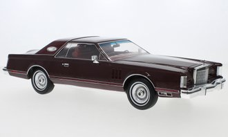 1:18 1978 Lincoln Continental Mark V (Dark Red)