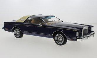 1:18 1978 Lincoln Continental Mark V (Dark Blue)