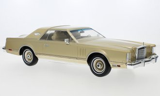1:18 1978 Lincoln Continental Mark V (Gold)
