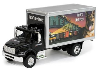 1:48 Jack's Delivery Box Truck