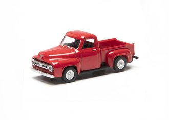 1:48 1953 Ford F-100 Pickup Truck (Red)
