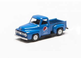 "1:48 1953 Ford F-100 Pickup Truck ""Pepsi"" (Blue)"