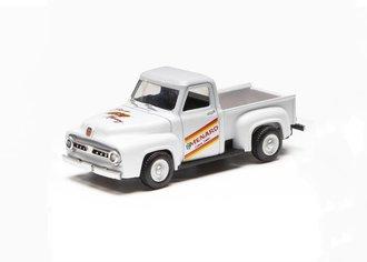 "1:48 1953 Ford F-100 Pickup Truck ""Menard's"" (White)"