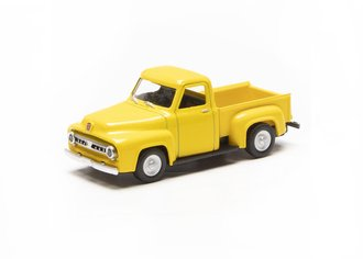 1:48 1953 Ford F-100 Pickup Truck (Yellow)