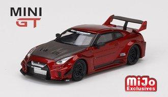 1:64 LB Works Silhouette GT Nissan 35GT-RR (Version 1) (Lava Red)