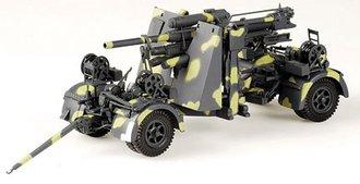 88MM Flak 36 Gun (Camouflage)