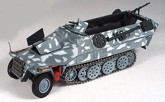 German Sd.Kfz 251/1 Semi-Track
