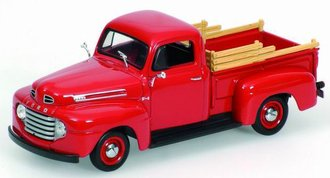 1948 Ford F-100 Pickup (Red)