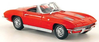 1963 Chevrolet Corvette Stingray Convertible (Red)