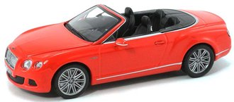 1:43 2012 Bentley Continental GT Speed Convertible (St James Red)