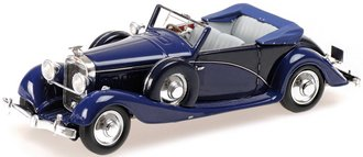 1:43 1935 Hispano-Suiza J-12 Drophead (Blue)