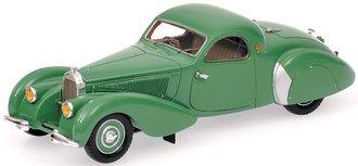 1:43 1939 Bugatti Type 57C Coupe (Green)